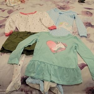 Bundle of Girls 3T and 2T clothes